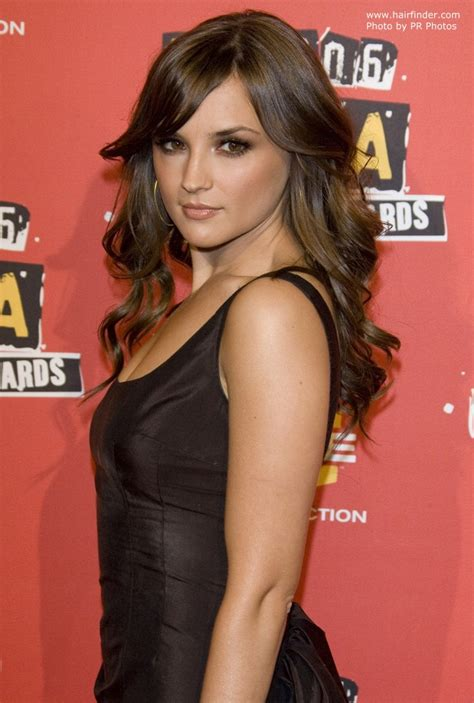 Hairstyle Photos Only Printer by Rachael Leigh Cook S Hair Styled With Lazy Rolls