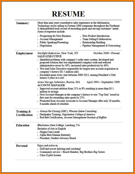 Major On Resume by Major Resume Resume Ideas