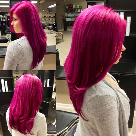 pravana magenta hair color my magenta hair and pravana vivids bliss