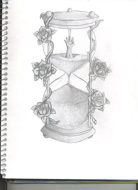 hourglass tattoo by ericyoungart on deviantart