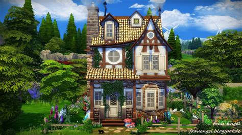 Tudor Cottage Plans my sims 4 blog witch house by frau engel