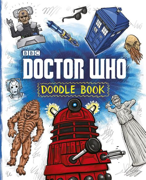 doodle doctor who uk doctor who doodle book out today blogtor who