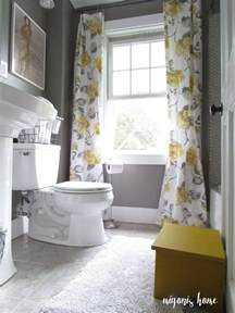 yellow and grey bathroom ideas 25 best ideas about yellow curtains on yellow