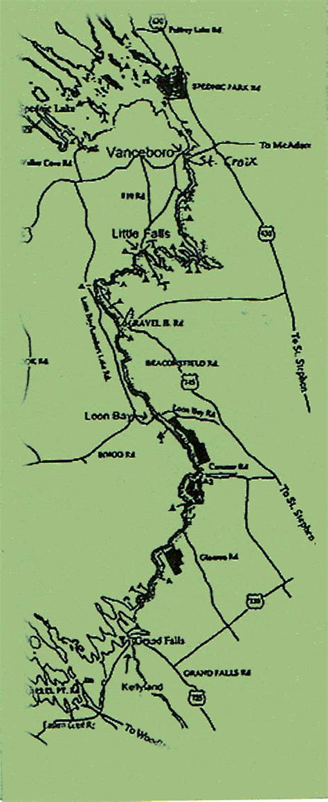 st croix river map st croix river map canoose outpost