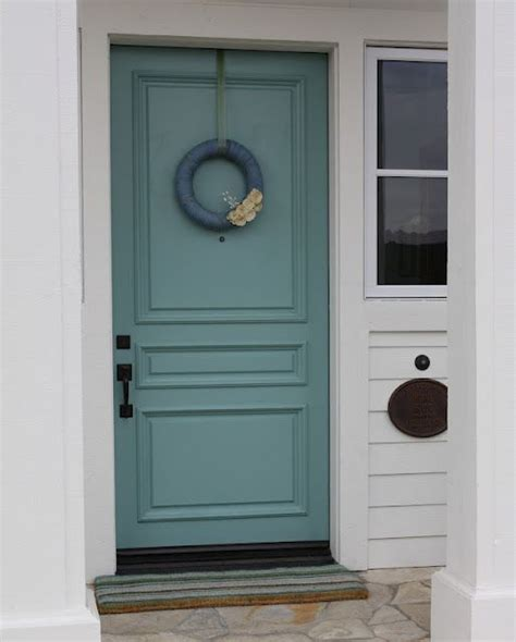Gorgeous Front Door Colour Is Sherwin Williams Quot Drizzle Front Door And Shutter Colors