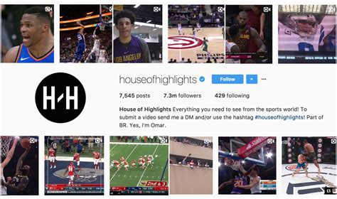 house of highlights how bleacher report and house of highlights teamed up to take over instagram