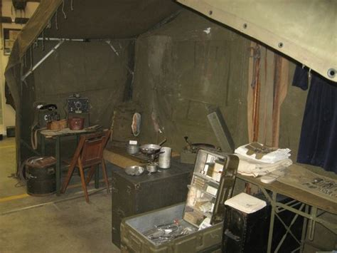 terre haute tent and awning large tent with wwii korea and vietnam items