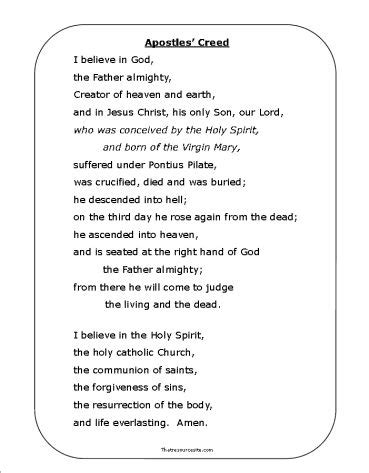 27 best children's ministry ~ apostles' creed images on