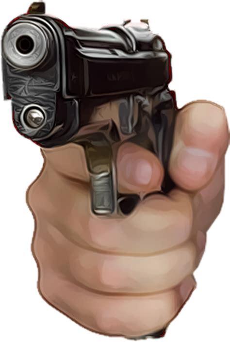 gun  hand psd large  images  clkercom vector