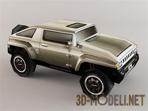 hummer 3d 3d модель hummer hx low poly