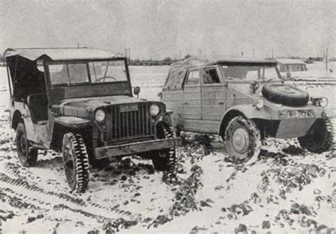 German Jeep Jeep Vs Kubelwagen