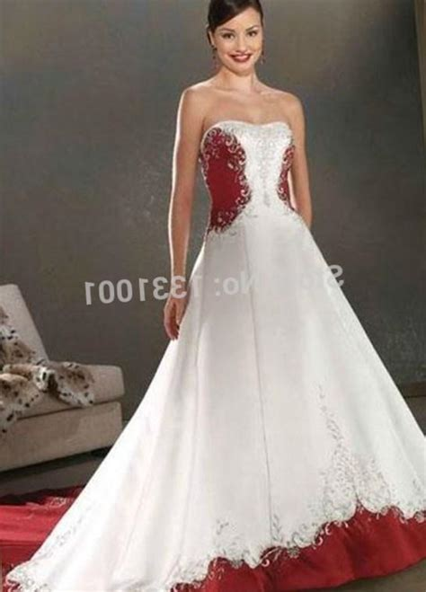 Re And White Wedding Dresses by And White Wedding Dresses Plus Size Junoir