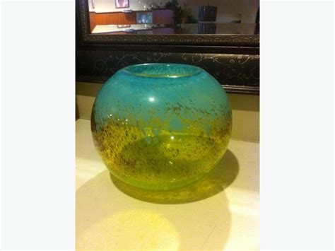 decorative glass bowl vase from homesense winners