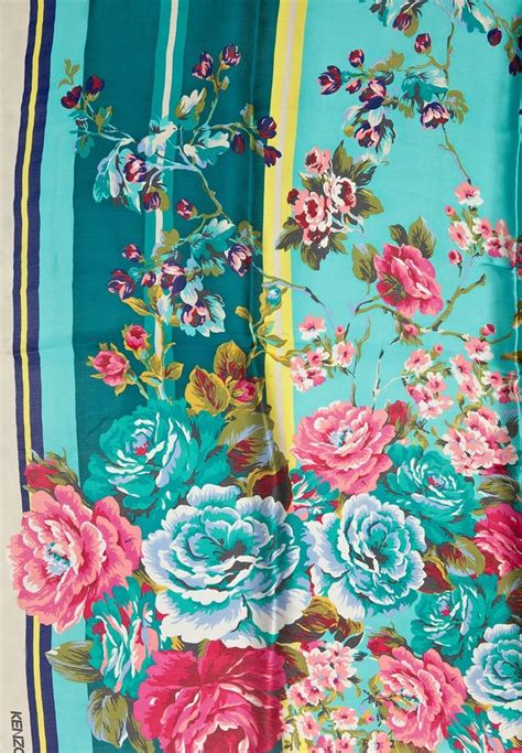 Print Scarf Silk Print Square Turky Tamboto 23 best images about kenzo scarves on midnight