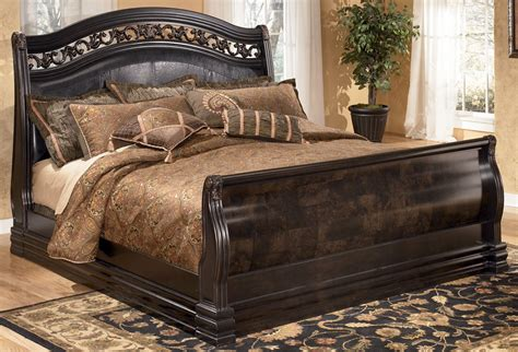 king sleigh bed frame sleigh bed frame cherry sleigh bed king size sleigh bed