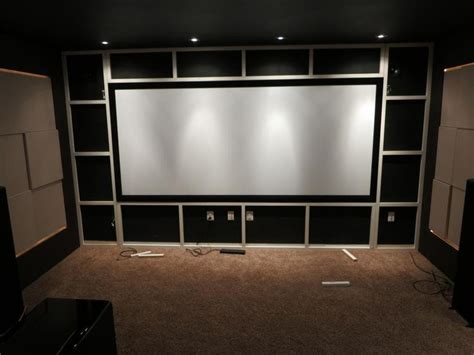 home theater screen wall design 212 best images about home theater build on