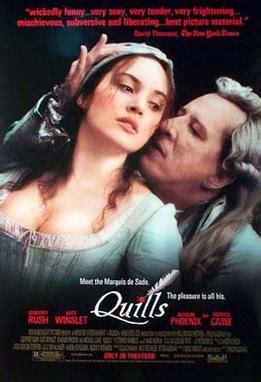 quills film script quills wikipedia