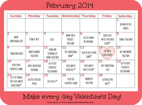 28 date ideas to make every day s day ad