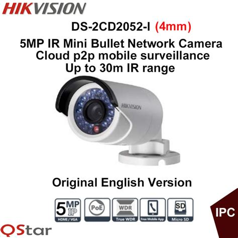 Hikvision Pro Ip Ds 2cd2f22fwd Iws 웃 유hikvision original version ds 2cd2052 i ᐂ surveillance surveillance cctv 5mp 웃