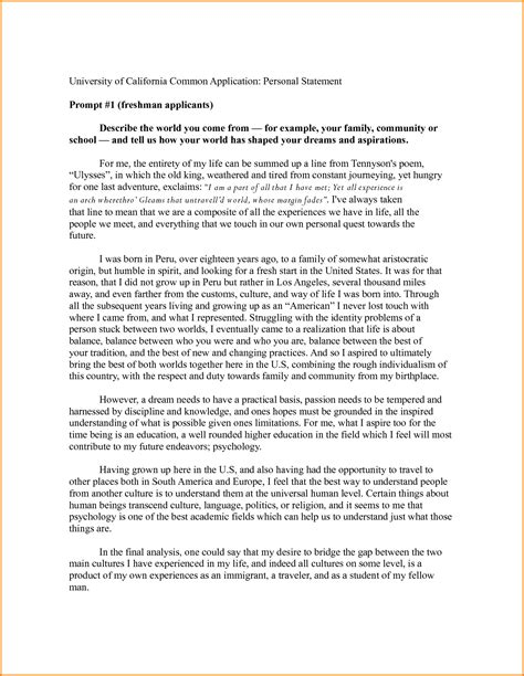 sle college essays that worked college application sle essays 28 images sle personal