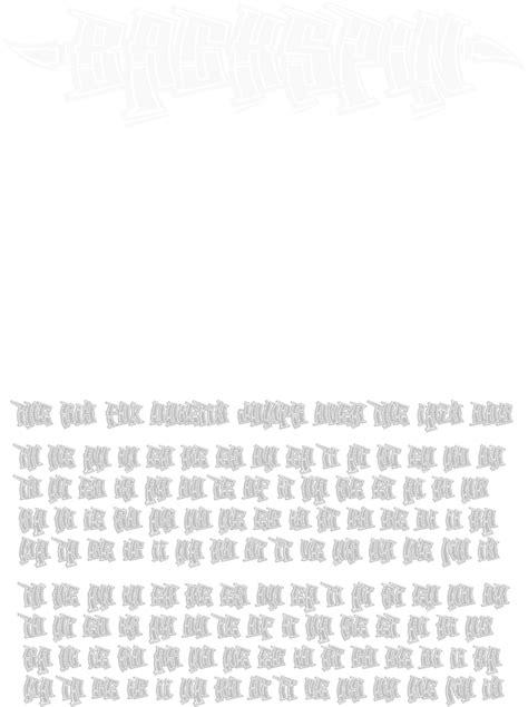 backspin graffiti font display page