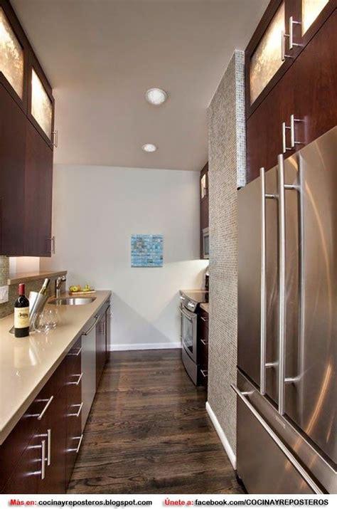 decorar cocina estrecha decorar una cocina alargada y estrecha home pinterest
