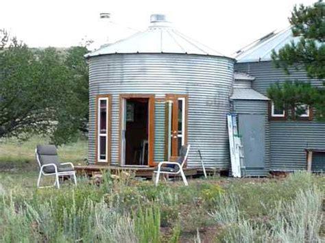 Earth Berm Home Plans los silos de hophay youtube