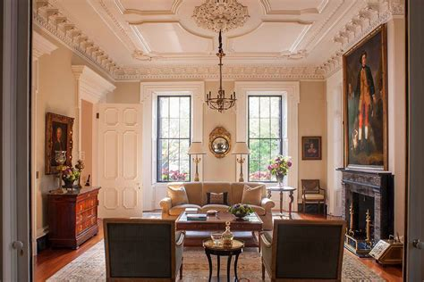 Historic Home Interiors by Southern Classic Historic Charleston Mansion Dk Decor