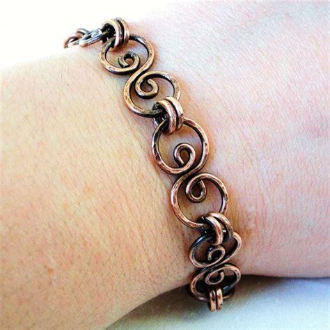 Via S Handcrafted Jewelry - handcrafted jewelry hammered copper bracelet antiqued