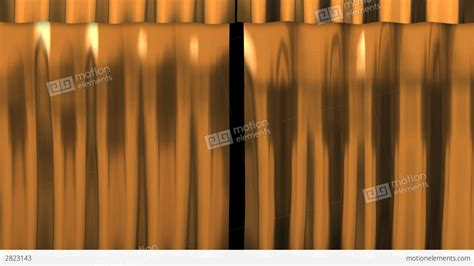 metal curtain metal curtain gold stock animation 2823143