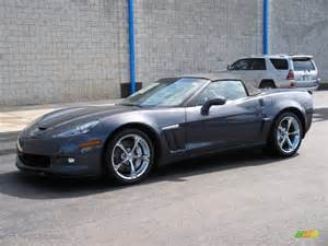 2010 cyber gray metallic chevrolet corvette grand sport