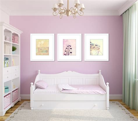 Wall Stickers For Childrens Bedroom pastel nursery decor carnival picture set toddler girl room