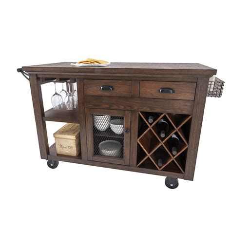 home decorators collection cooper rustic walnut kitchen