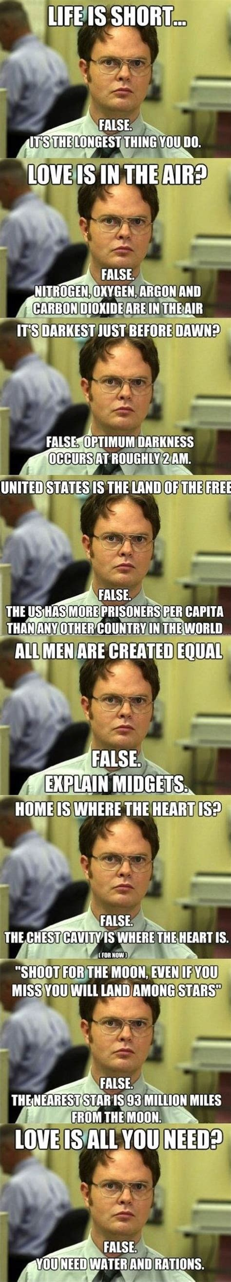 Dwight Schrute Memes - funny dwight schrute memes memes