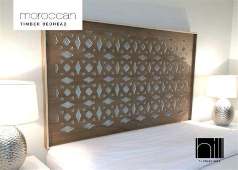 moroccan headboard moroccan timber bedhead headboard for queen ensemble