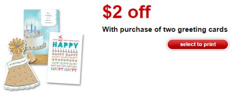target greeting cards coupon