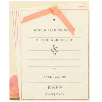 wedding invitations paperchase paperchase wedding invitation can i get married now so s