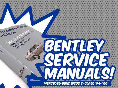 service manual accident recorder 1996 mercedes benz c class instrument cluster accident ecs news mercedes benz w202 c class bentley service manuals