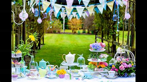 how to throw a summer backyard party cool summer garden party decorations youtube