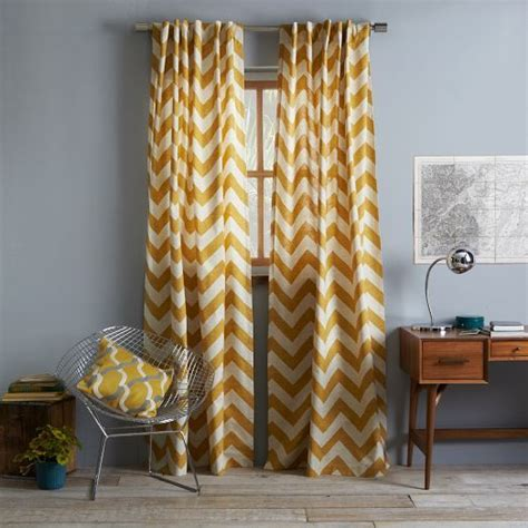 West Elm Zigzag Curtain Inspiration Best 25 Panel Curtains Ideas On Pinterest Window Curtain Designs Living Room Curtains And