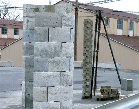 Plastic Concrete: Building Bricks Made From Landfill Waste   Inhabitat   Green Design