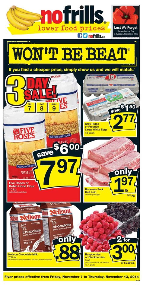 no frills new year flyer no frills on flyer november 7 to 13