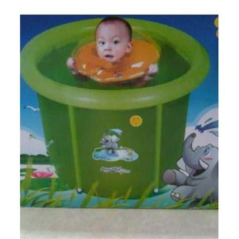 Murah Kolam Renang Spa Baby Flow Hijau 90x90cm baby pool cilukba babyshop surabaya jakarta