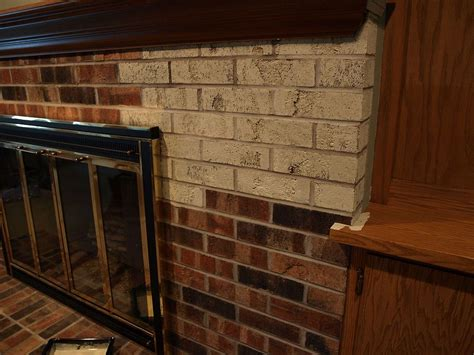 chalk paint brick fireplace hometalk painting a brick fireplace with chalk paint 174