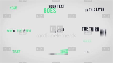 Textify Kinetic Text Animations After Effects Templates 7810409 Kinetic Text Template