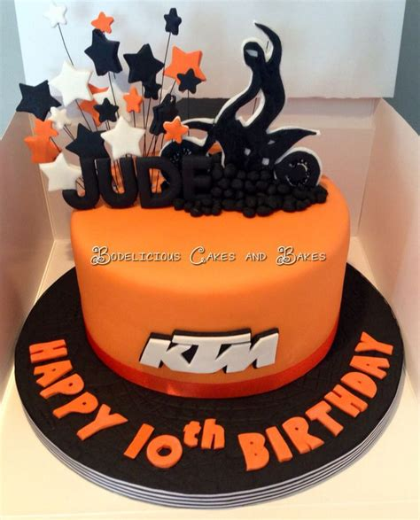 Ktm Cake Ideas The 25 Best Ideas About Motocross Cake On