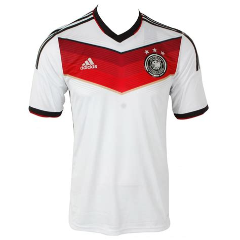 Adidas Germany adidas germany home shortsleeve replica jersey white