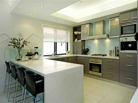 U Shaped Kitchen Ideas Modern U Shaped Kitchen Design Using Stainless Steel Kitchen Photo 1405094