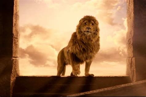 aslan the from narnia you ll be surprised to what these children s