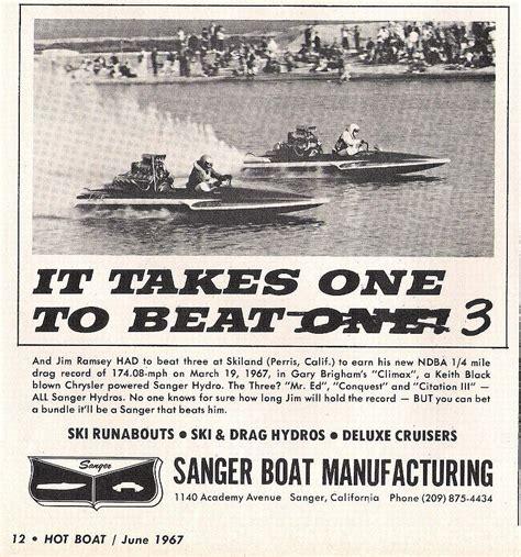 old sanger boats sanger boats